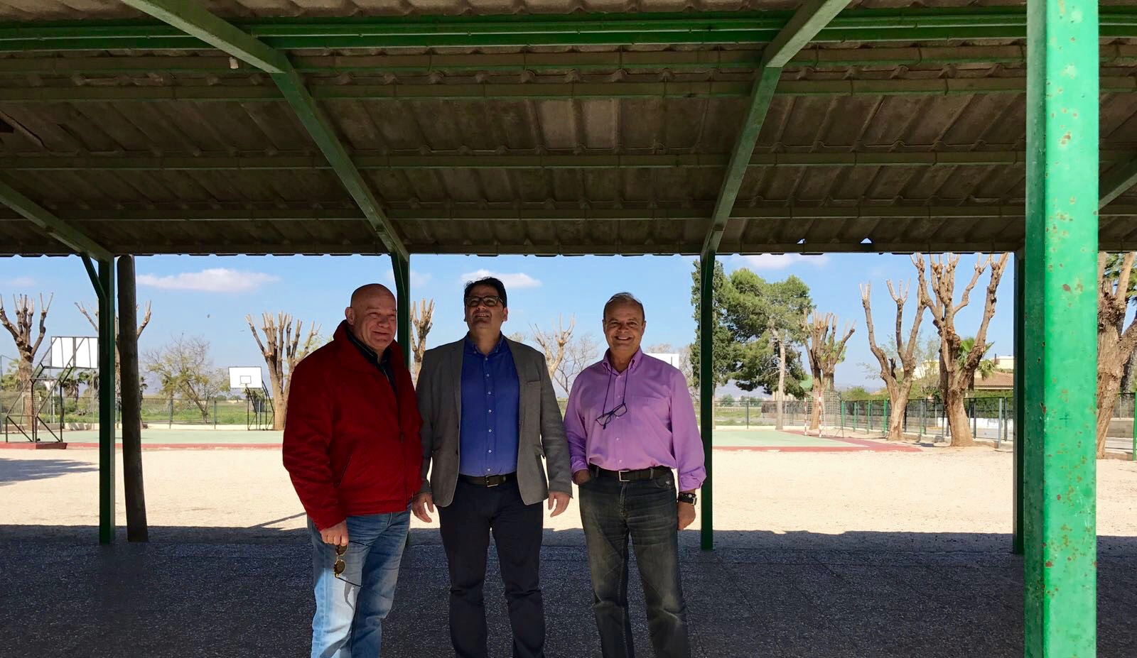 "The school ""Virgen de los Dolores"" will have new patio roofing in Easter"