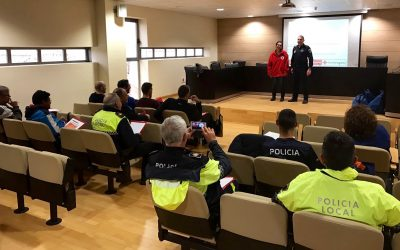 The Local Police of Dolores receives training to attend cardiac arrests