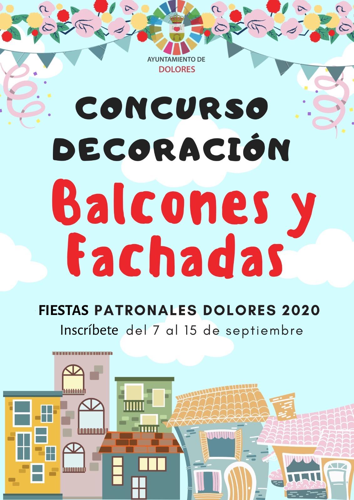 CONCURSO DE DECORACIÓN DE BALCONES Y FACHADAS. FIESTAS DE SEPTIEMBRE
