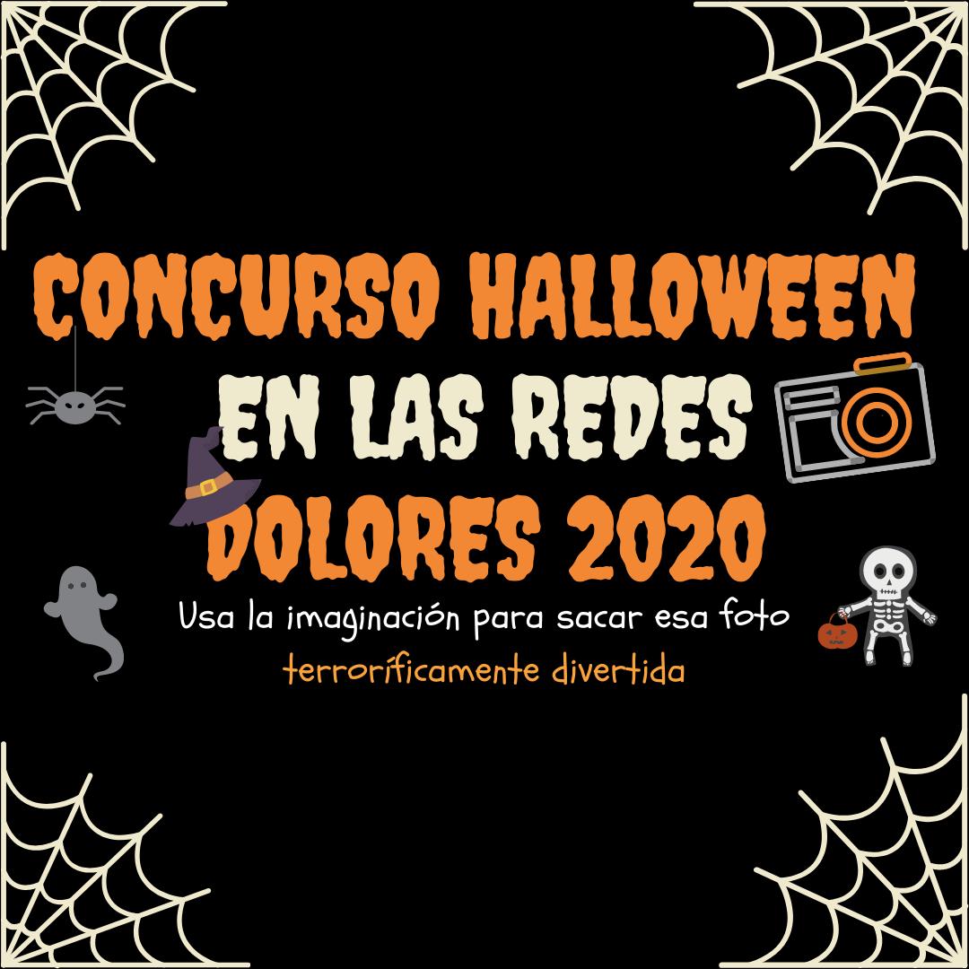Concurso HALLOWEEN en las redes Dolores 2020