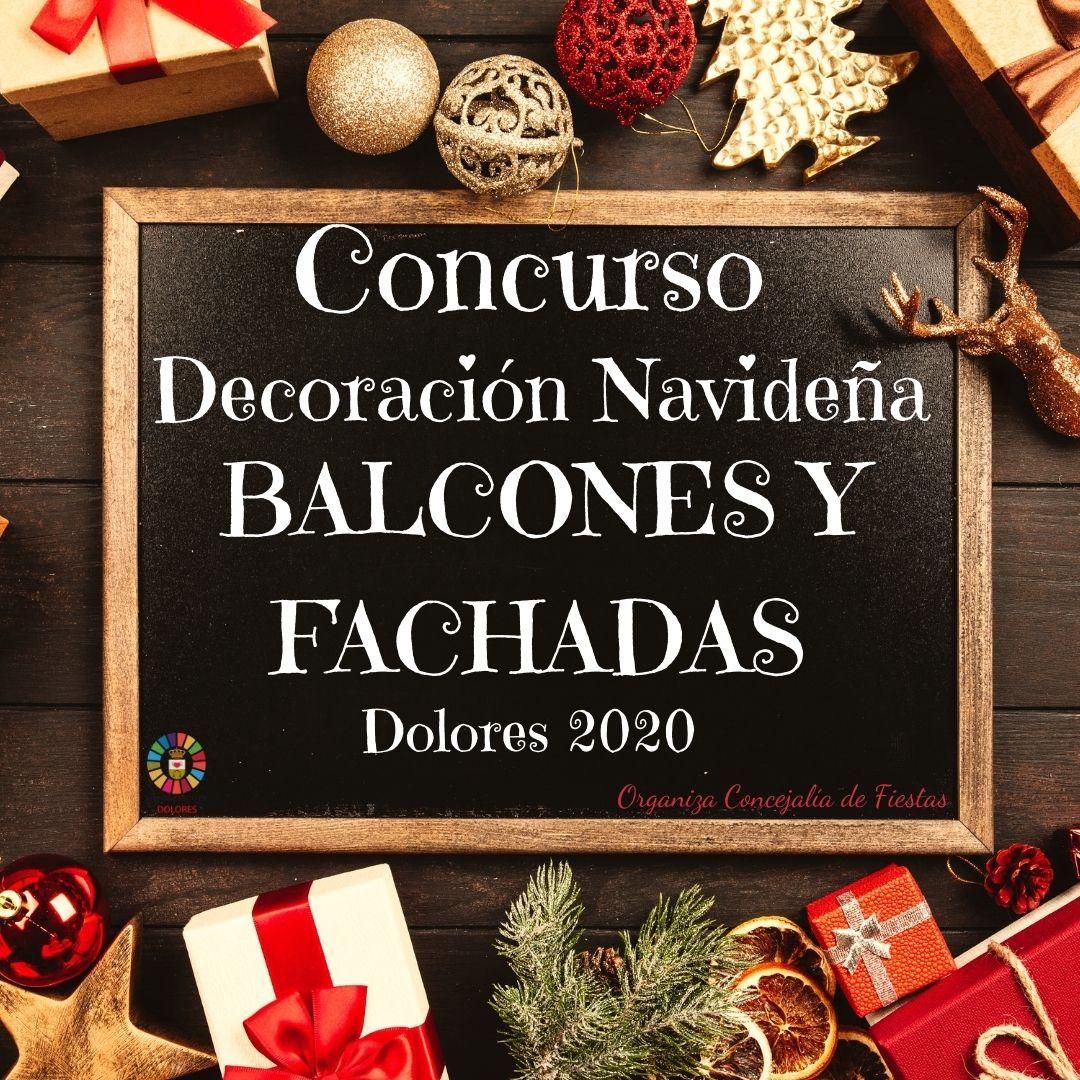 Concurso decoración Navideña de Balcones y Fachadas