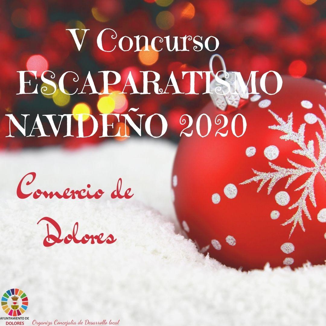 V Concurso de Escaparatismo Navideño Dolores 2020