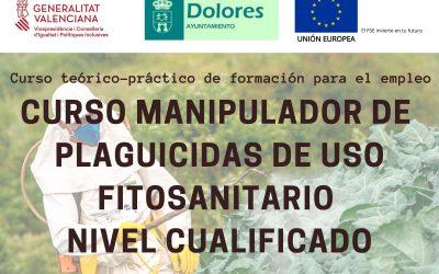 CURSO MANIPULADOR DE PLAGUICIDAS DE USO FITOSANITARIO – NIVEL CUALIFICADO